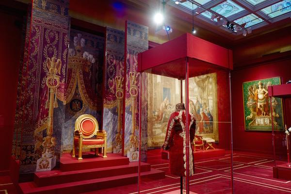 MBAM expo : Napoléon, art et vie de cour au palais impérial Trône