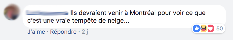 Nous on a une vraie tempete